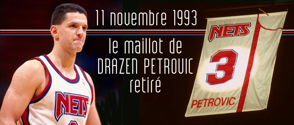 maillot Petrovic retiré