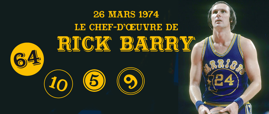 Rick barry 1974 – LaurentRullier