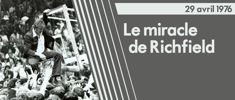 Miracle Richfield – Cavs 1976 – LaurentRullier