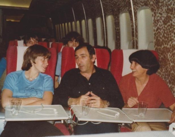 Suzy à côté de JP Cormy et C.Malfois