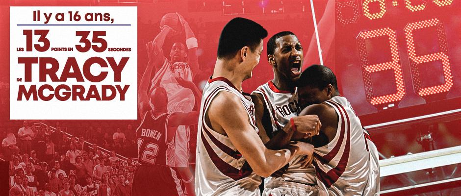 Basket – Rétro – Les 13 points en 35secondes