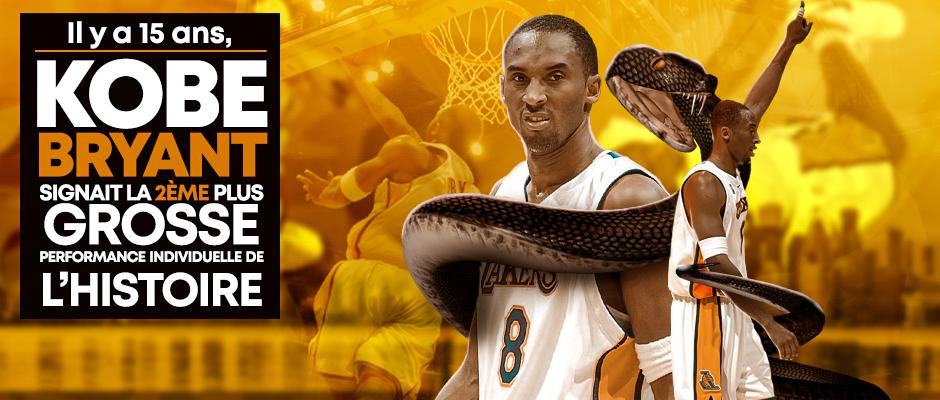 Basket – Rétro – Kobe 81pts
