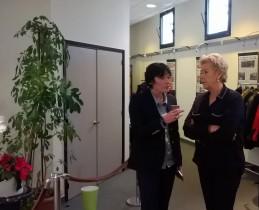 En 2016, avec Carole Force, nouvelle présidente de la Ligue féminine de basket