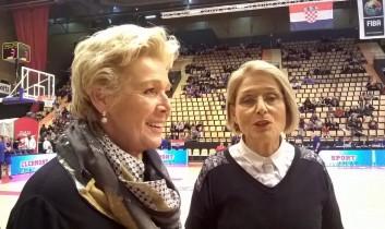 Dudu et Colette Passemard au palais des sports de Clermont-Fd en 2016